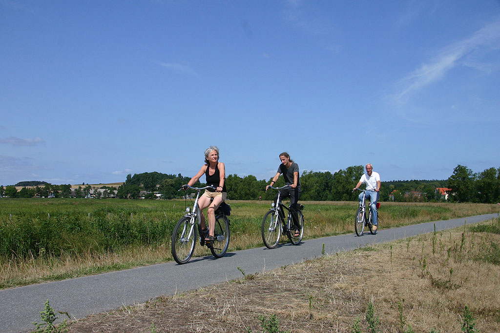 Radwanderweg nahe Middelhagen / Lobbe